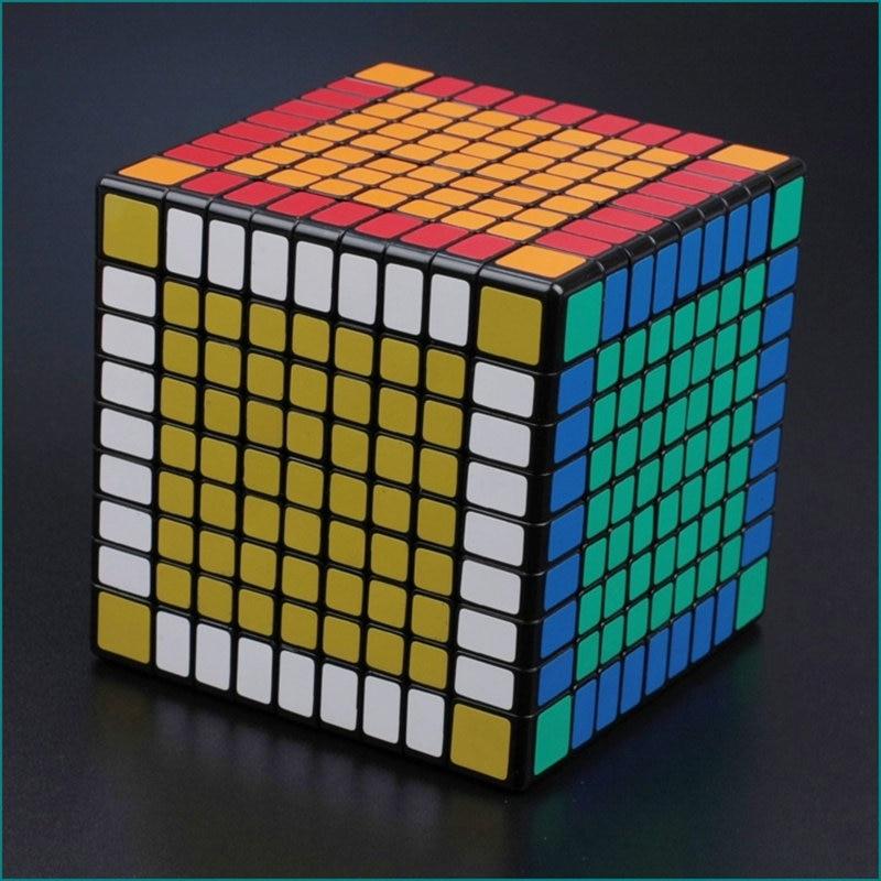 9x9x9 CUBE 9X9 Puzzle Cube Professionnel PVC et Mat Autocollants Cubo Magico Speed Puzzle classique Jouets Apprentissage et L'éducation Jouet - 3