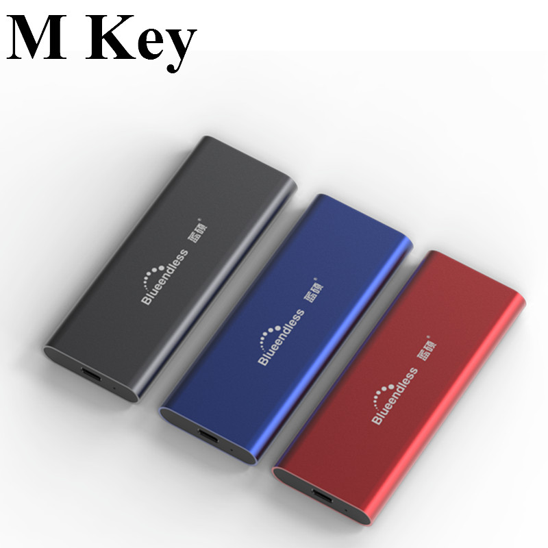 PCIE M.2 NVME SSD Enclosure Support M Key Type C USB3.1 2240/2280 SSD Case Full Aluminum External Box For Solid Disk