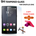 Screen Protector Tempered Glass Cover For OnePlus One 9H 0.33mm Anti Shatter Anti Scratch Protective Film For One Plus 1 A Gift