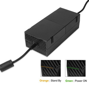 "Image 4 - 220W עבור Xbox אחד Xbox 1 אספקת חשמל, AC מתאם החלפת מטען w/כבל בריק מתקדם השקט גרסה 100 240V ארה""ב Plug"