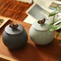 Chinesische keramik tee topf verschlossenen tee topf ru brennofen tee lagerung topf topf tieguanyin pu 'er tee topf|Teedosen|Heim und Garten -