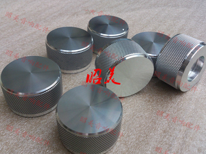 Image 2 - Diameter 44MM high 22MM all aluminum solid volume potentiometer HIFI audio amplifierS knob
