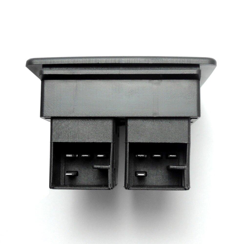 KEMiMOTO interrupteur de fenêtre principale électrique pour VW Beetle 1998-2010 1C0 959 855 A 1C0959855A - 6