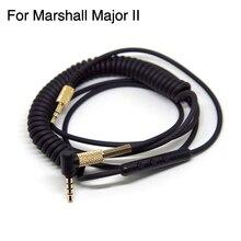 Faaeal Замена аудио кабель для Marshall Major II Мониторы шнур наушников с выносным Микрофоном Объем Управление