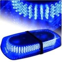 Free shipping New 240 LED 12V Blue Emergency Warning LED Mini bar Strobe Light