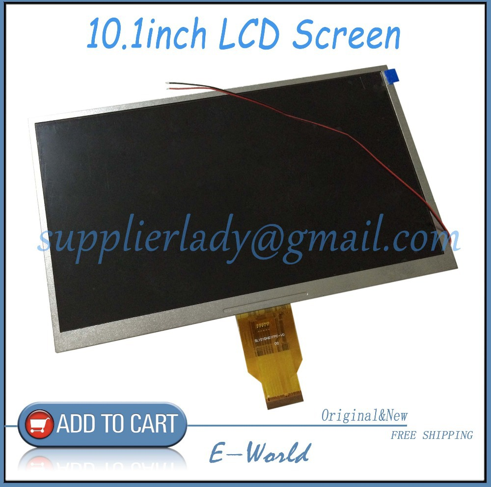 Original 10.1inch 40pin LCD screen H-H101D-27C H-H10118FPC-C1 H-H10118FPC for table PC Free Shipping