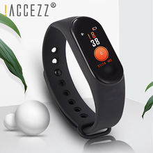 !ACCEZZ Smart Band Bracelet For Xiaomi Blood Pressure Measurement Colorful Screen Wristband Fitness Tracker M3 For IOS Android