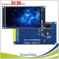 3.97/4 pouces 480 (RGB) * 800 16.7 M HD IPS TFT LCD écran d'affichage avec panneau tactile pilote IC OTM8009A