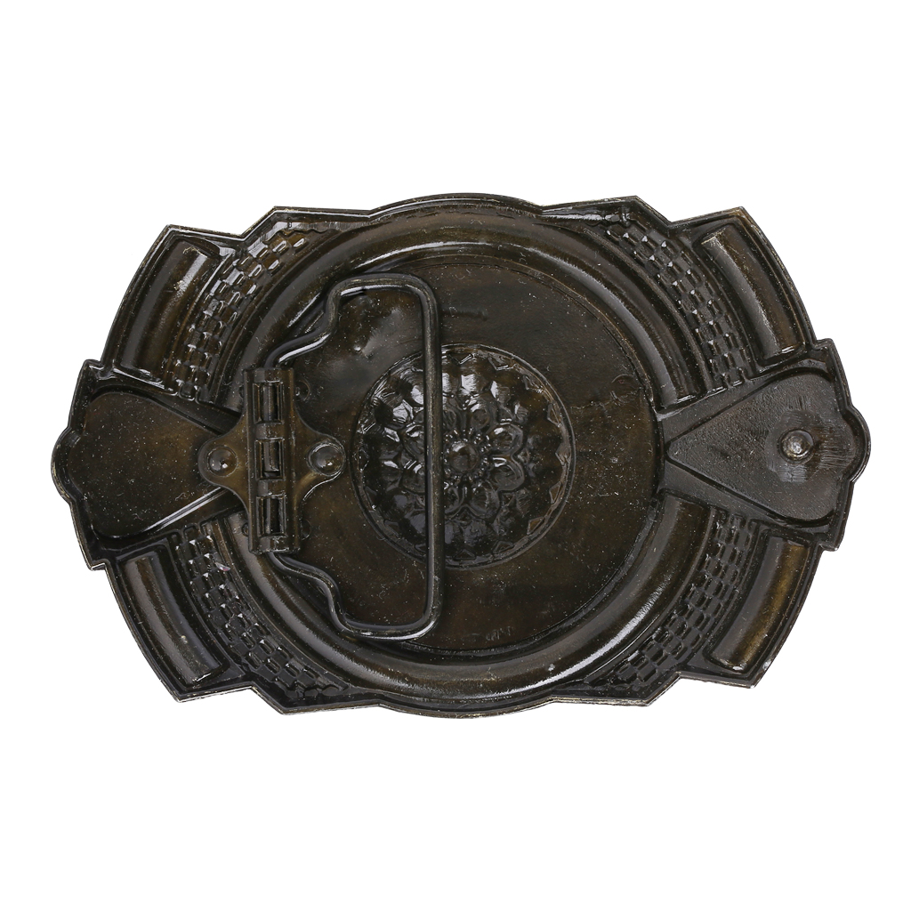 Western Bohemian Cowboy/girls Belt Buckle Indian Rodeo Novelty Bead Decor For Men's Belt Accessory