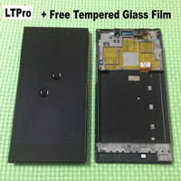 100 Tested Full LCD Display Touch Screen Digitizer Assembly Frame Bezel For Xiaomi Mi3 M3 WCDMA