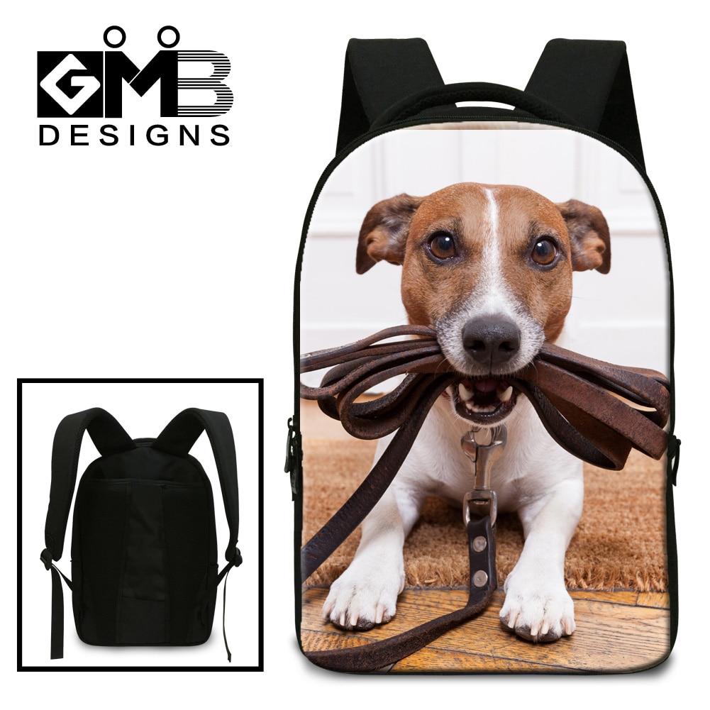 Dispalang cute dog animal printing school backpacks high school students shoulder bags men casual travel laptop backpack bookbag cute 18 inch animal cat dog printing