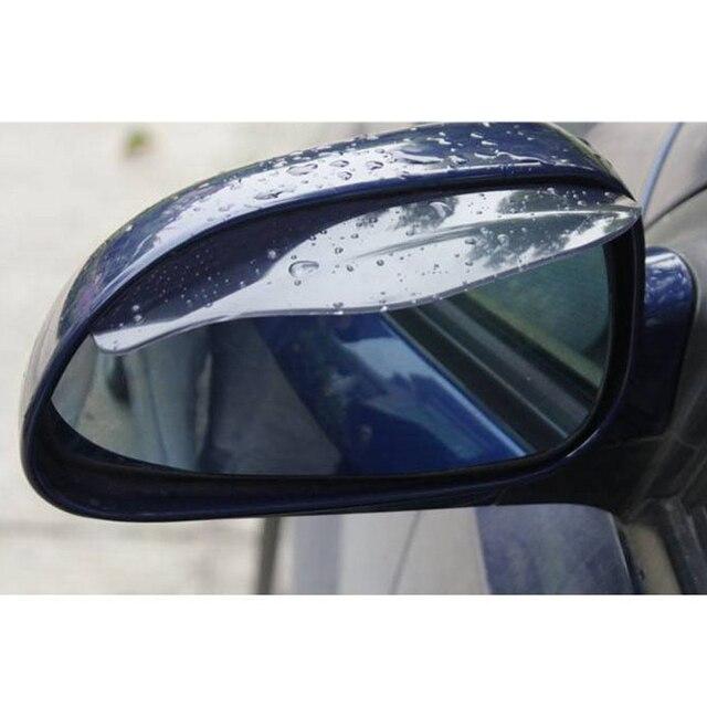 1pcs Car universal Rrain Shield Flexible Rear Mirror Guard Rearview mirror Rain Shade