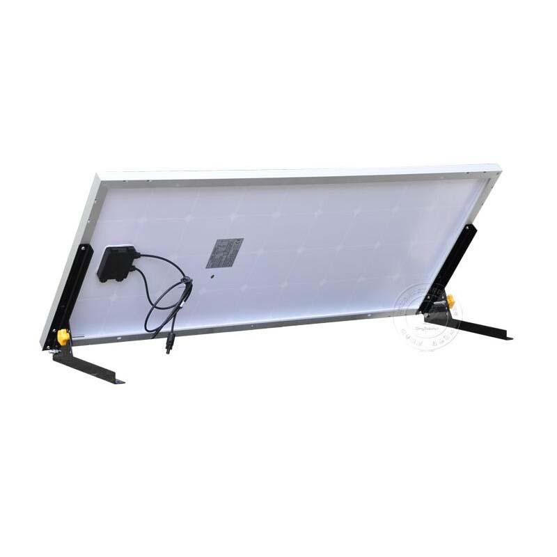 solar panel 100W  12v bracket mount new