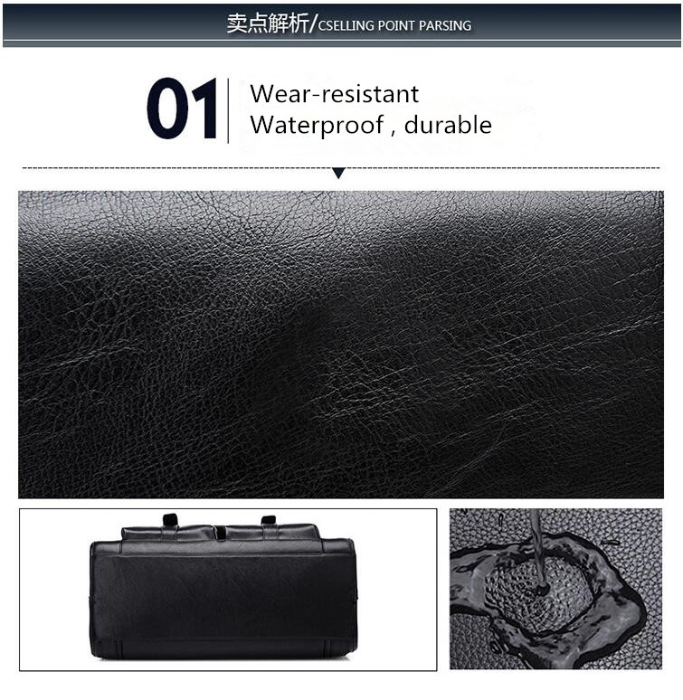 HTB1DBtaL4YaK1RjSZFnq6y80pXaK New Luxury Cow Genuine Leather Business Men's Briefcase Male Shoulder Bag Real Leather Men Messenger Bag Travel Computer Bag