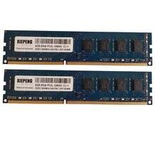 Mémoire de serveur d'ordinateur de bureau, modèle DDR3, capacité 8 go, fréquence d'horloge PC3L-12800U/1600/1600 MHz, RAM pc3L 12800, broches 240, UDIMM