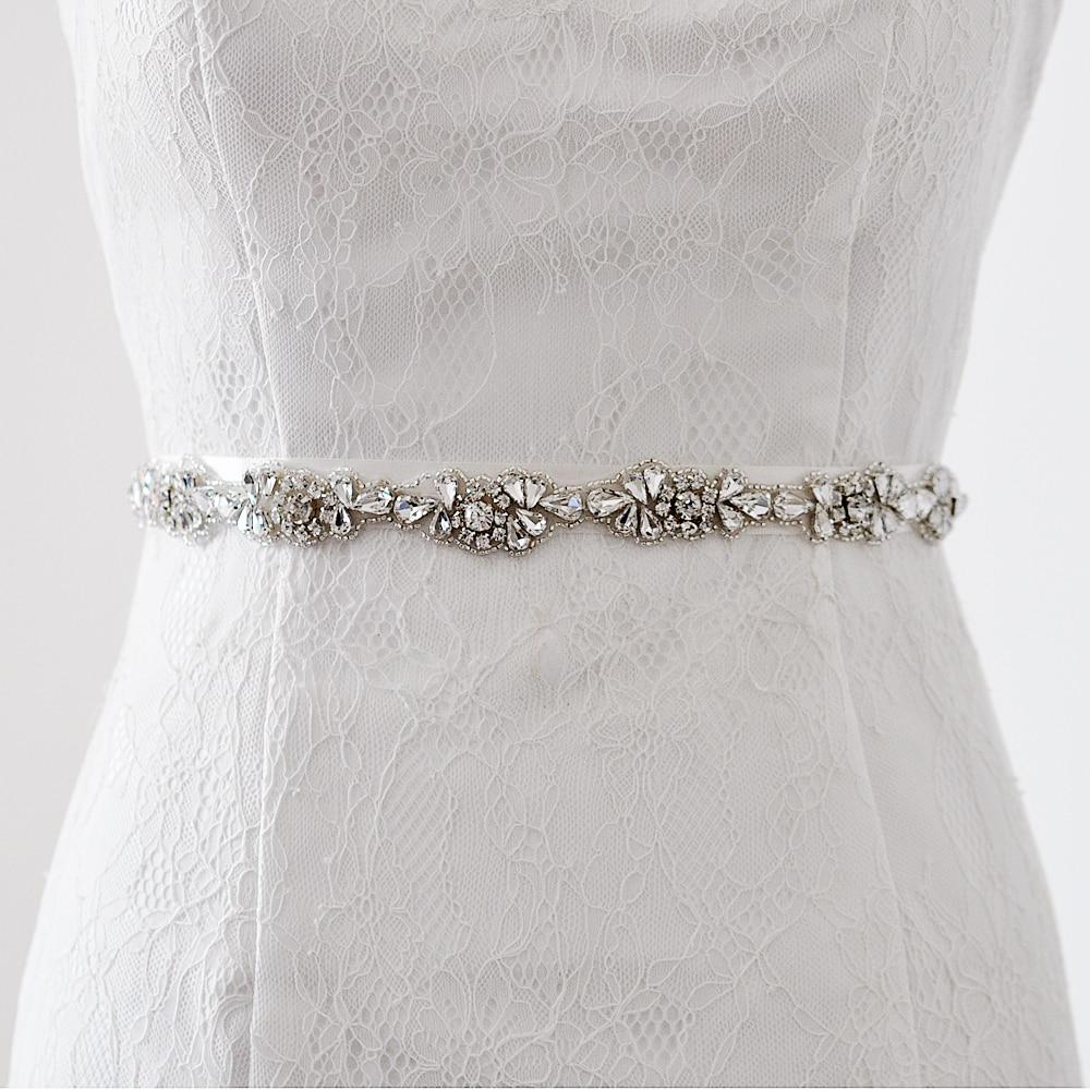 Rhinestone Sash For Wedding Dress 13 Best TOPQUEENWomen us Wedding Rhinestone