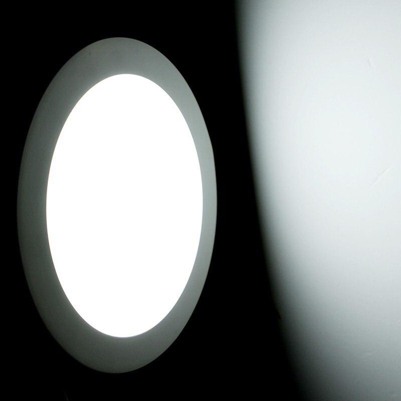 Ronda Led Luces de Techo luz Luces de la Oficina de teto Painel Luz 3 w 6 w 9 w 12 w 15 w la Iluminación de Oficinas