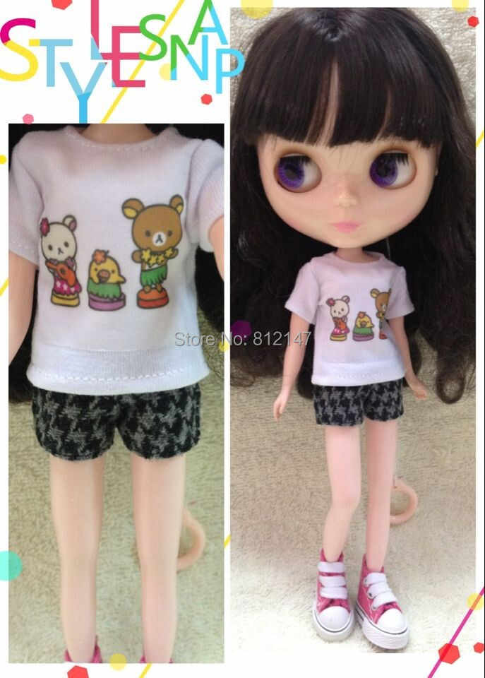 ブライス人形tシャツ