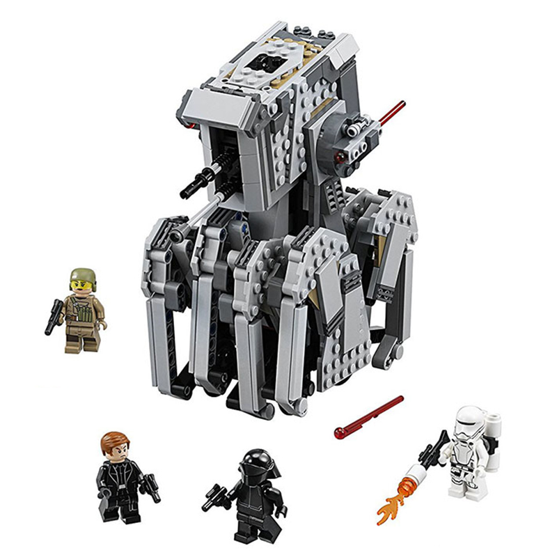 Star War Heavy Scout Walker Compatible With Legoing Star Wars <font><b>75177</b></font> Model Building Blocks Boys Birthday Gift Toys For Children image