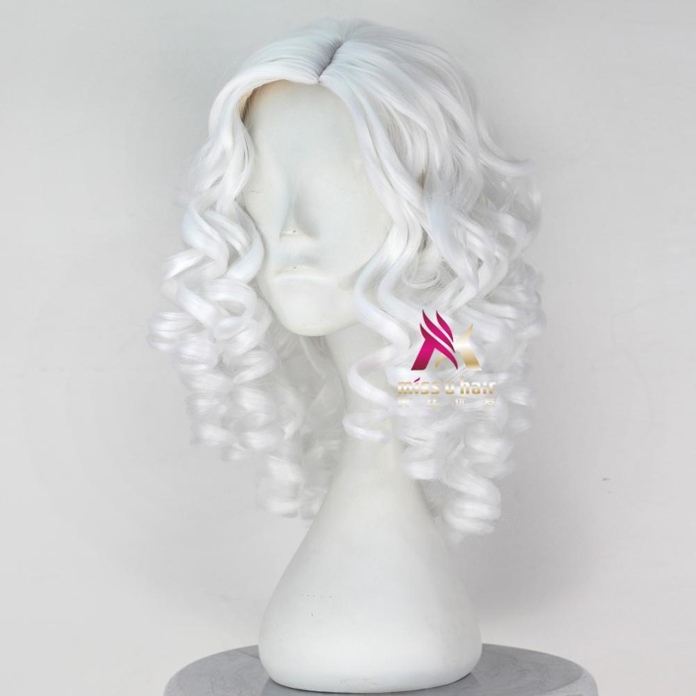 Miss u cabelo sintético menina curto encaracolado