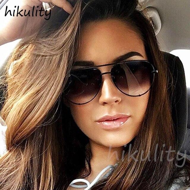 89231 Australia Stylish Oversized Pilot Claw Designer Sunglasses Women 2018 Ladies Shades Gradient Lens Sun Glasses Female 1
