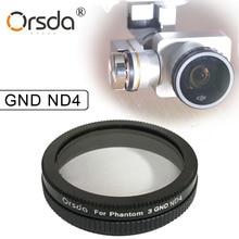 Orsda GND ND4 Filter for DJI phantom 4 phantom 3 for Gimbal Camera Ultraviolet Filter UAV Quadcopter drone parts accessories