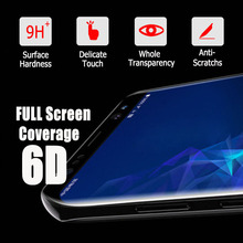 For Samsung Galaxy S8 S9 S10 Plus 6D Full Curved Tempered Glass Phone Accessories Fit For S7 S6 Edge Note 8 9 Screen Protector надувной матрас intex 189x72cm 68798