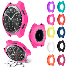 Ouhaobin 1PC New High Quality Silicon Slim Smart Watch Case Cover protectors For Samsung Gear S3 Frontier Feb 12 c1 Dropship
