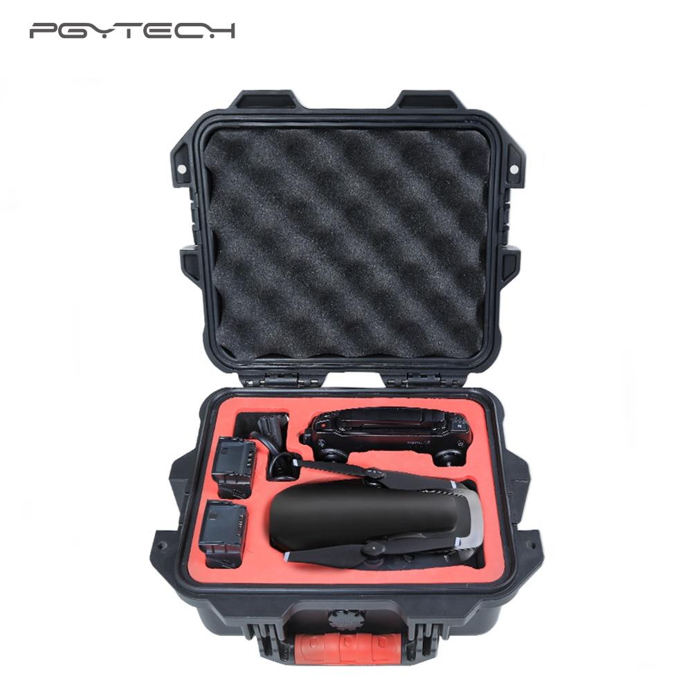 PGYTECH DJI Mavic Air Case Bag Mini Safety Case Waterproof Hard EVA Foam Carrying Bag for DJI Maivc Air Box Drone Accessories