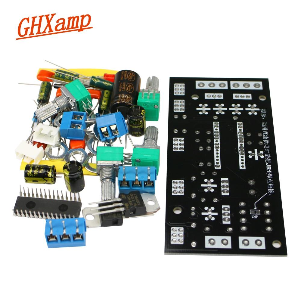 GHXAMP Hifi UPC1892 Preamplifier Board DIY Kits Front Tone Control Board 2.0 Balance Control For Car Audio Modification 1pc