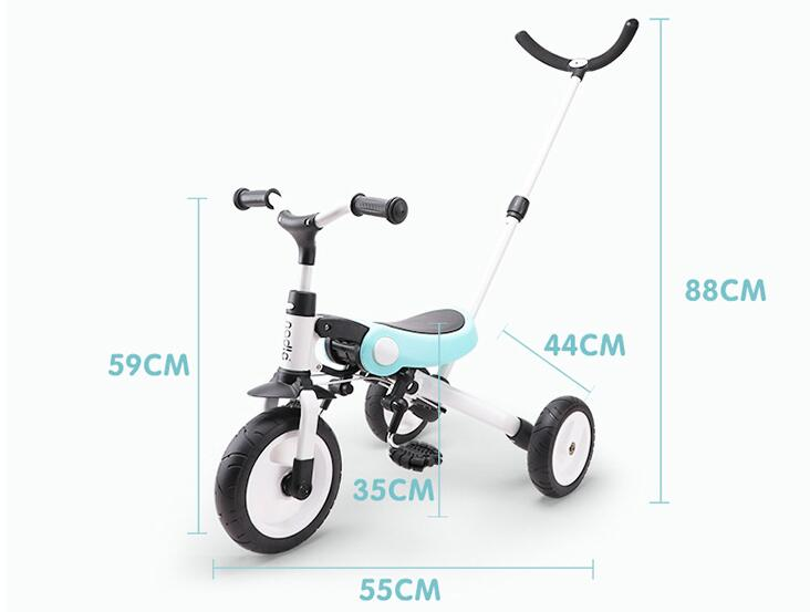 2019 new children s tricycle trolley 2 3 6 years old bicycle lightweight folding bicycle stroller 2019 new children's tricycle trolley 2-3-6 years old bicycle lightweight folding bicycle stroller