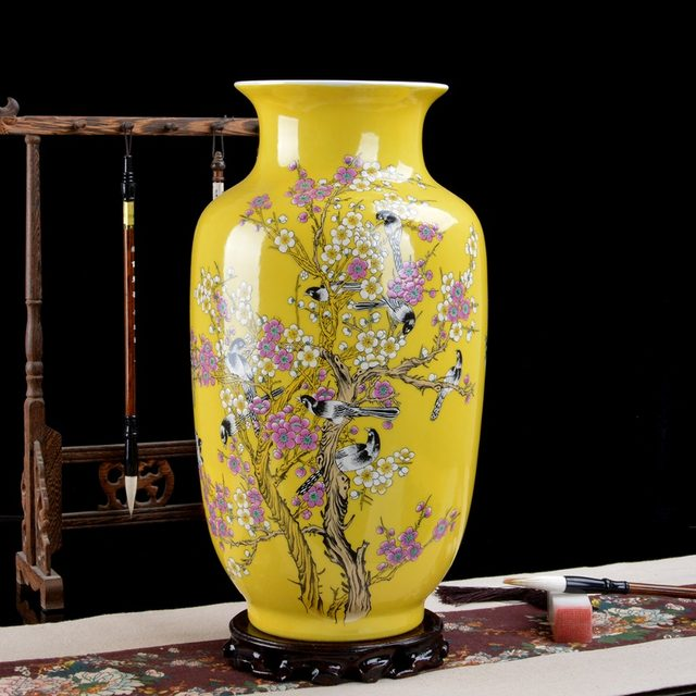 Online Shop Decorative Red Chinese Porcelain Vases Aliexpress Mobile