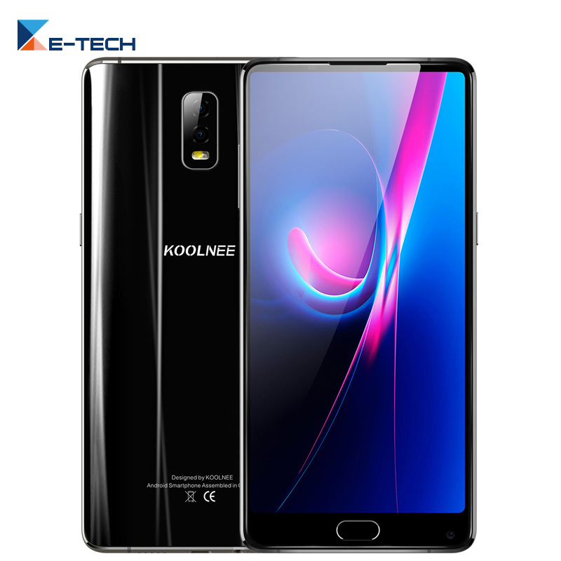 Aliexpress.com : Buy KOOLNEE K1 Trio 6G+128G Smartphone MTK6763 Octa Core 6.01'' Dual Back Cams 16.0+2.0MP 4200mAh Android 7.1 4G LTE Fingprint ...