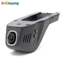 Nueva Universal de la Cámara Oculta DVR Del Coche Novatek Grabador de Vídeo Digital 96650 IMX 322 Gran Angular 1080 P Coche Dvr WiFi APP manipulación