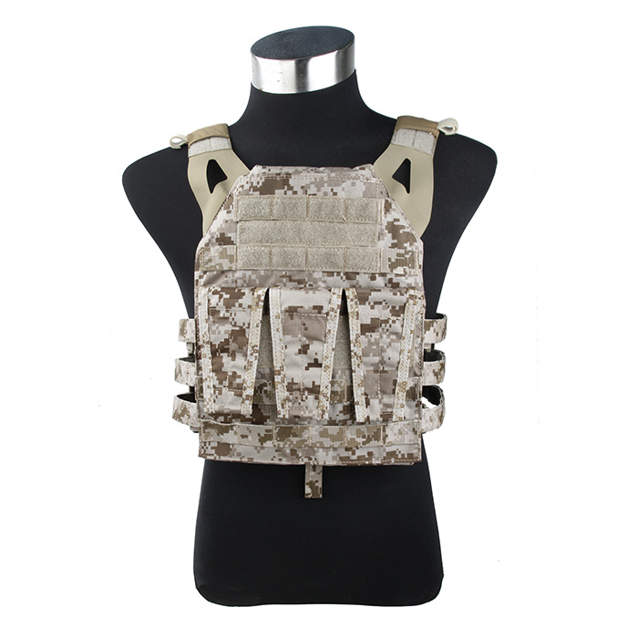 TMC Navy Jump Plate Carrier Genuine AOR1 Webbing Desert Camouflage Tactical Vest(SKU051307)