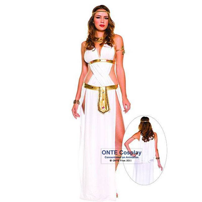 9adafd1281f US $21.11 12% OFF|Sexy Egyptian Cleopatra Costumes Ladies Cleopatra Roman  Toga Robe Greece Goddess Fancy Dress Outfits on Aliexpress.com | Alibaba ...