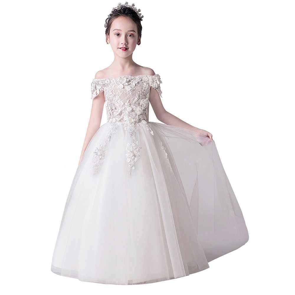 bb686387e260 Detail Feedback Questions about Pretty High Low Satin Flower Girl ...
