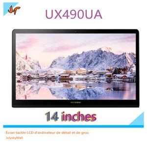 Image 5 - 14 인치 노트북 lcd 화면 아수스 zenbook 3 디럭스 ux3490u ux490u ux490ua 노트북 lcd 디스플레이 화면 교체