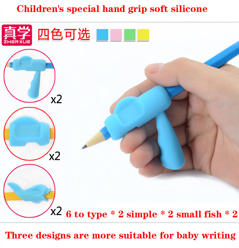 Hold Pen Orthotics Young Children Elementary School Students With Correct Grip Pencil Writing Posture Silica Gel