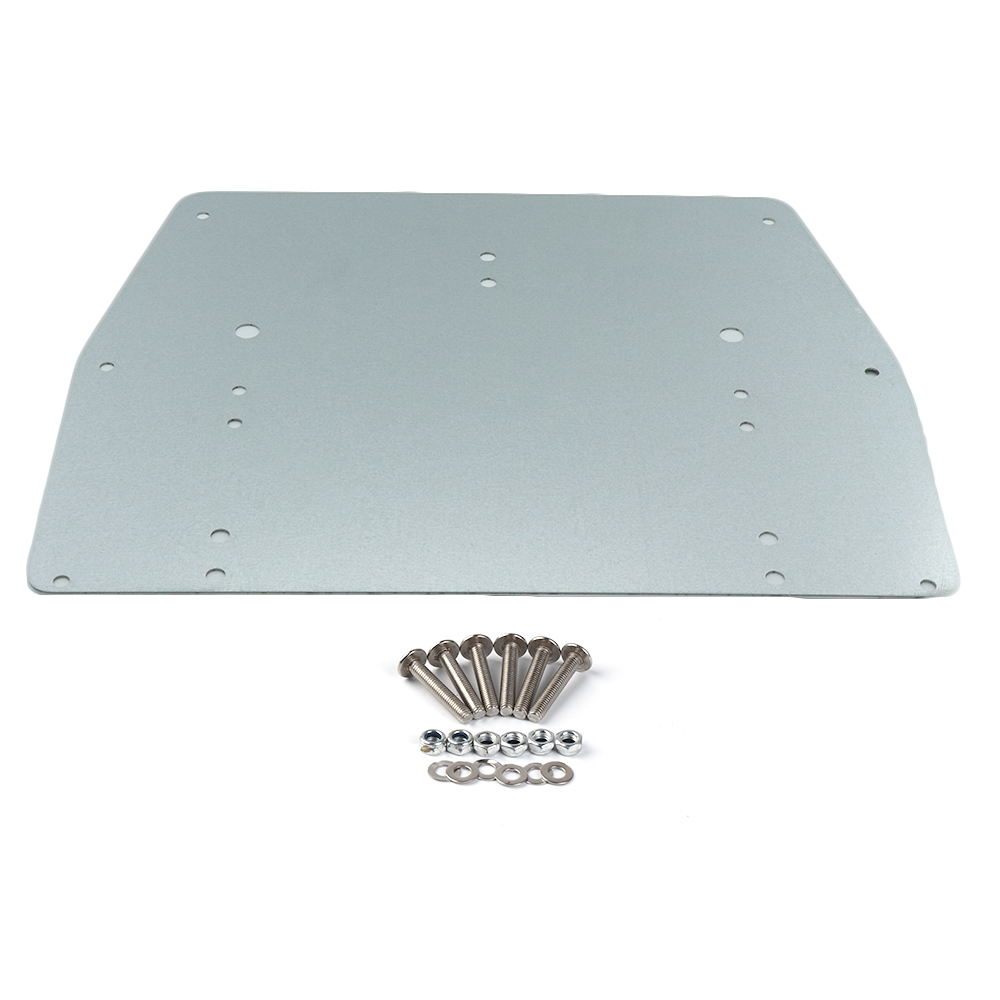 Metal Tour Pak Pack Trunk Base Plate For Road King Street Electra Glide Classic FLHTC FLHTCU