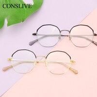 Men Women Optical Glasses Frame Polygon Nearsighted Eyeglasses 2019 New Oversized Frame Glass Men Myopia M3006