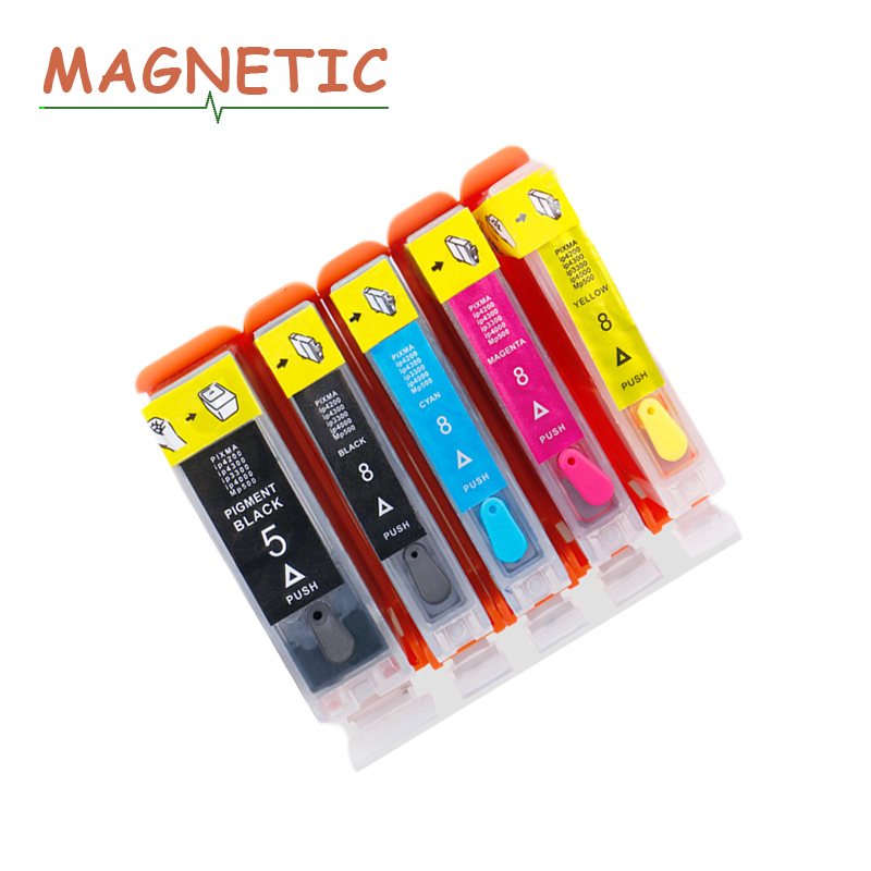 Full Refillable cartridge PGI5 CLI8 Series For Canon PIXMA iP4200/3300/3500/4200R/4300/4500/5200/5200R/5300 ink printers
