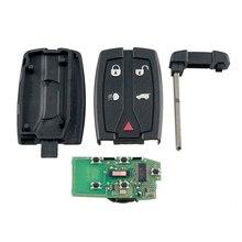 Dzanken 5 Buttons Remote Car Key 433MHZ for Land Rover Freelander 2 2007-2015& Transponder Chip& Uncut Blade стоимость