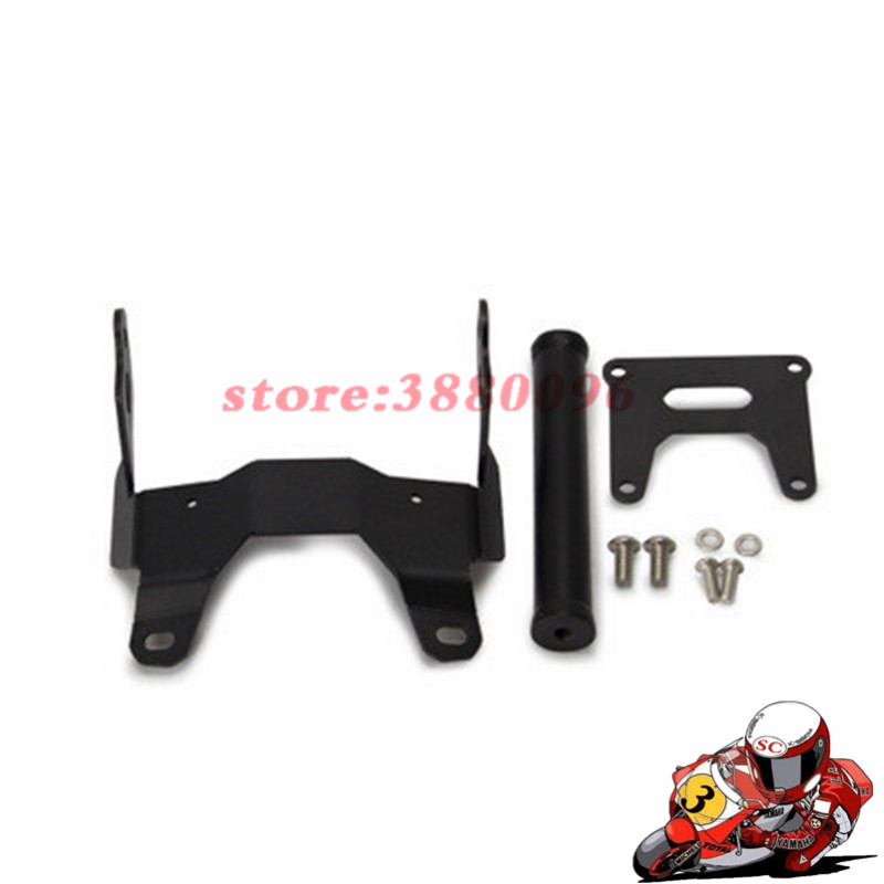 For HONDA X ADV 750 XADV XADV750 GPS Bar Mobile Phone bracket GPS black Motorcycle front Stand Holder Smartphone