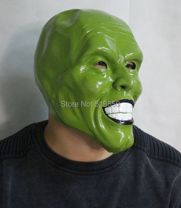 The mask jim carrey movie film toys figure green mask image