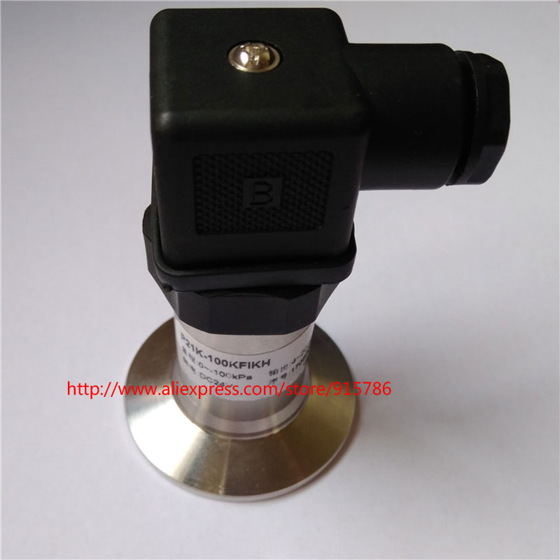 Image 3 - 4 20MA Sanitary Pressure Transmitter / Chuck Pressure Transducer / 0 5V Clamp Pressure Sensor/ DC24V Flat Film Pressure Sensor-in Sensors from Electronic Components & Supplies