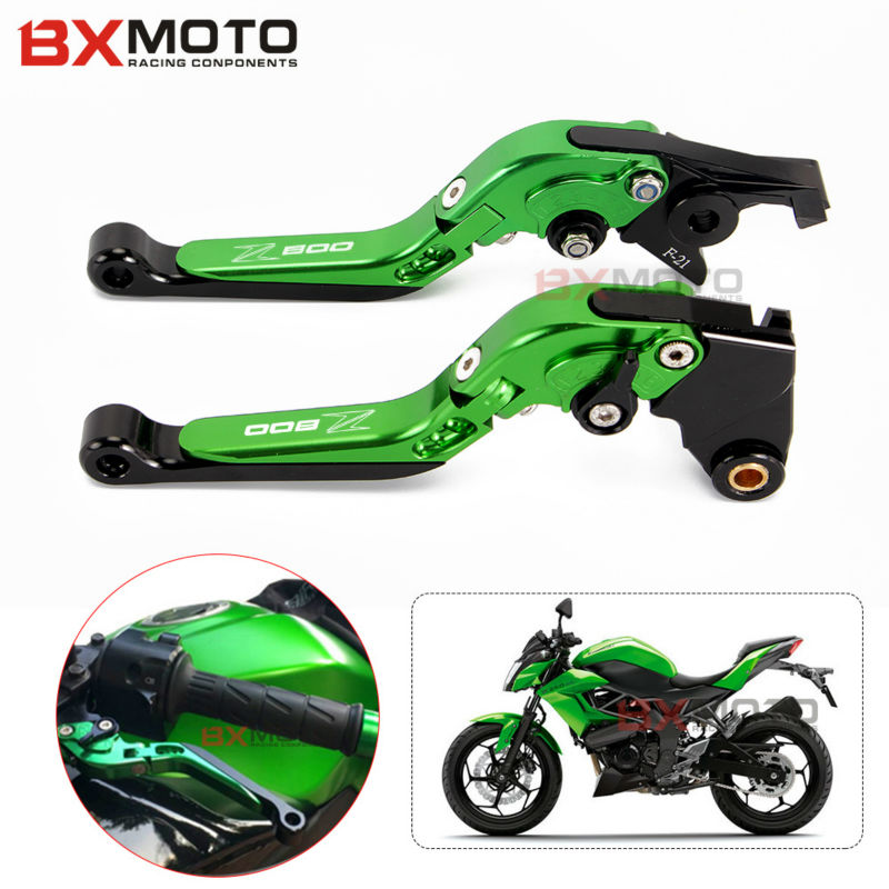 Motorcycle Accessories Handlebar Adjustable Cnc Brakes Clutch Levers Set Motorbike Brake For Kawasaki Z800 2013 2014 2015 2016