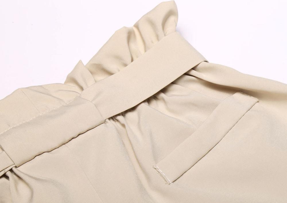 HTB1DBz4NXXXXXc4XVXXq6xXFXXXD - High Waist Shorts Loose Shorts With Belt Woman PTC 59