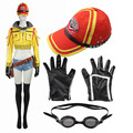 Popular Games COS Final Fantasy XV Cindy Aurum Cosplay Costume Mechanic Jacket Hat Accessories Custom-made Any Size