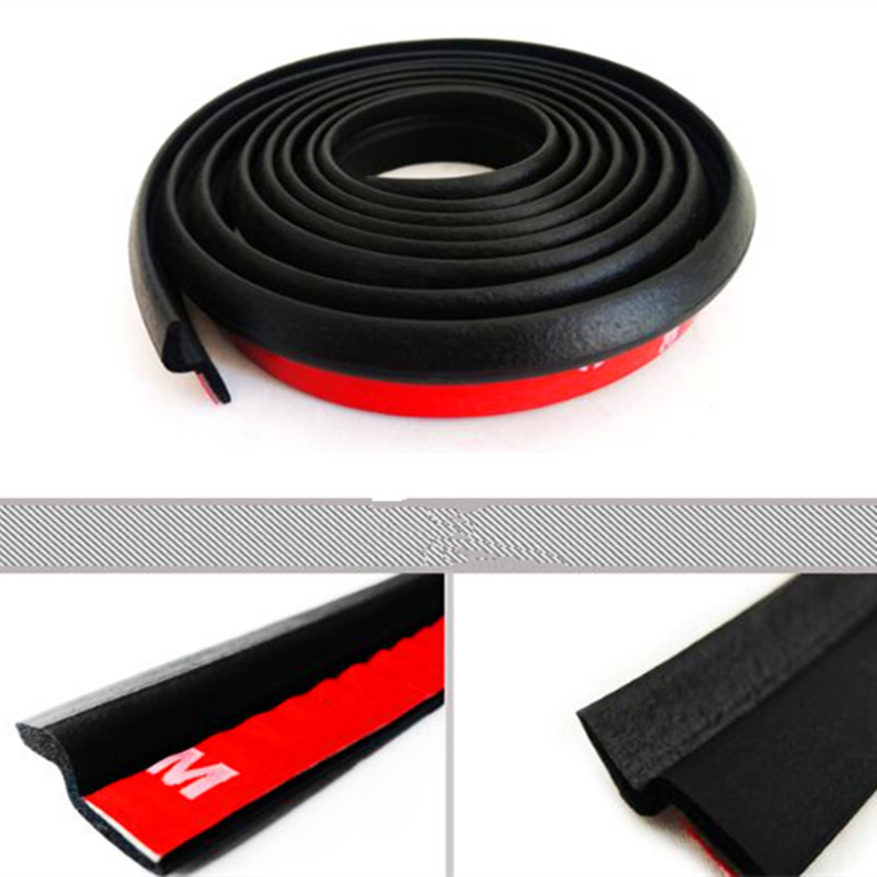 Car sticker door noise seal sealing strip For mitsubishi lancer asx outlander pajero l200 mitsubishi galant emblem car styling for mitsubishi l200 kb